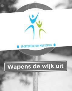 Sportspeeltuin Hillesluis Wapens de wijk uit Wapensdewijkuit